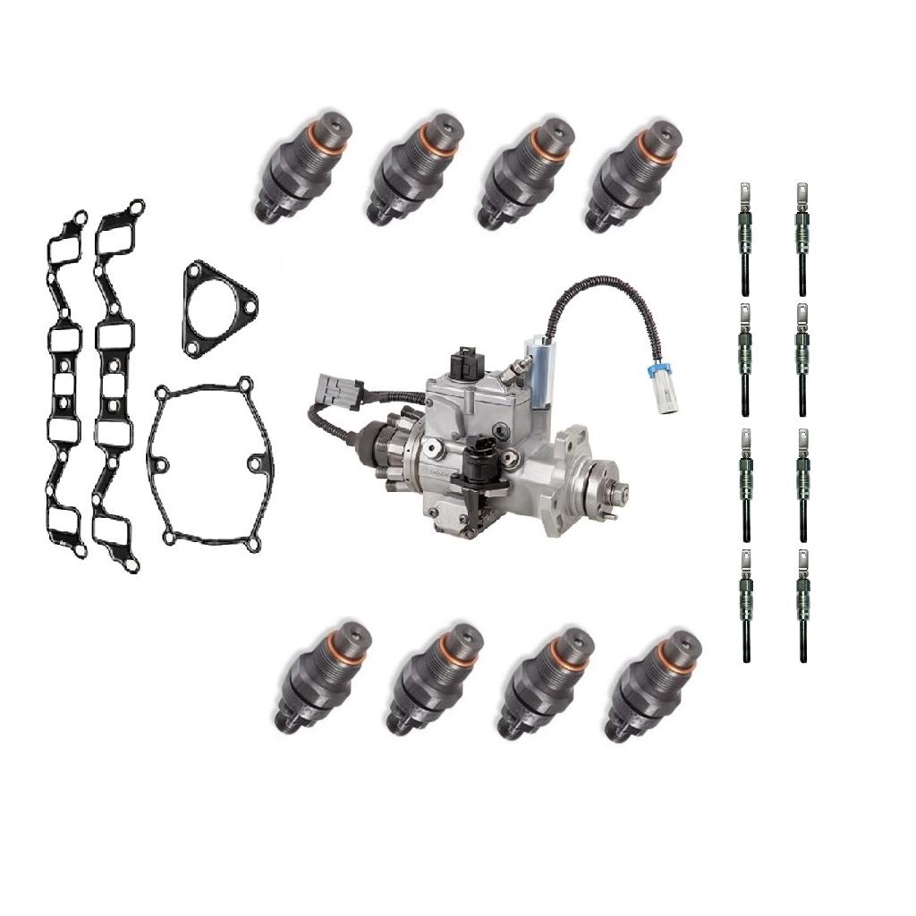 Chevy Gmc 6 5l Fuel Injectors Glow Plugs