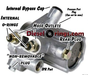 DieselOrings: High Pressure Oil Pump reseal kit  73L