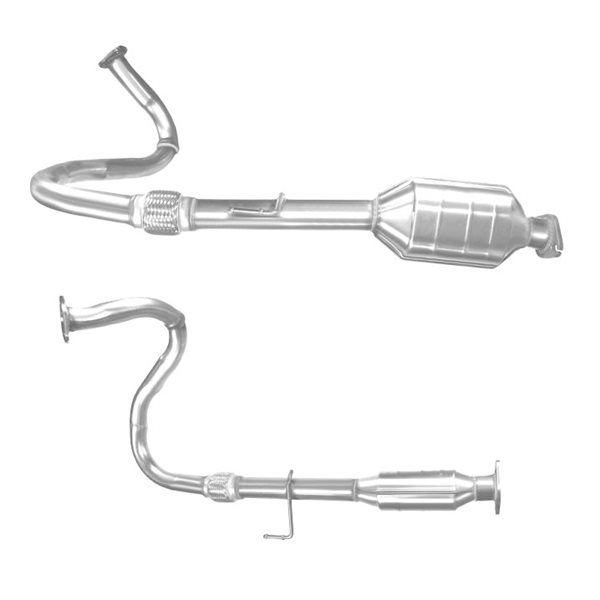 ISUZU TROOPER 3.0 05/98-02/01 Catalytic Converter BM80061