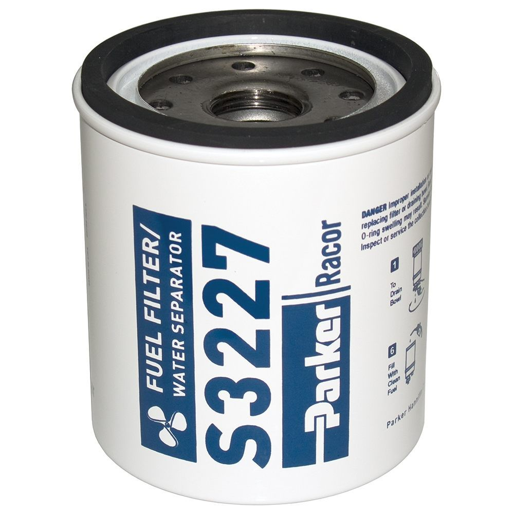 hight resolution of details about s3227 parker racor marine water separator fuel filter element 10 micron