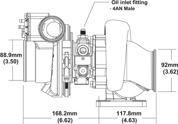 BorgWarner EFR 6758 Turbocharger