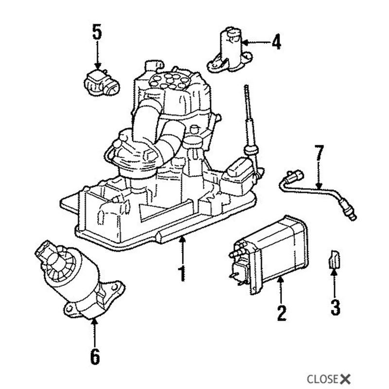 Factory OEM EGR Valve 07.5-10 6.6L LMM GM Duramax
