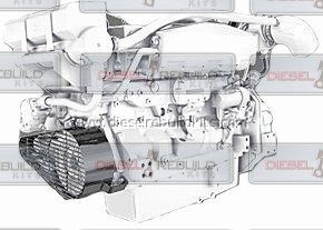 Out-of-frame Rebuild Kit   John Deere 6081 (8.1L) Power-Tech Engine