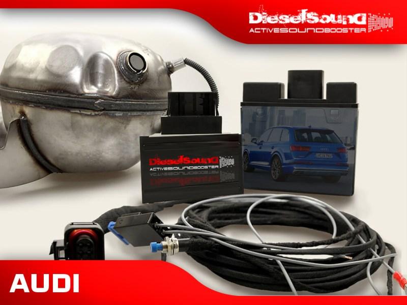 ActiveSoundBooster für Audi Q7 (4M) 3.0 TDI inkl. Einbau & App-Control
