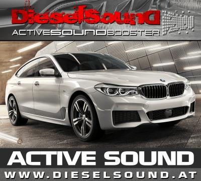 ActiveSoundBooster für BMW 6er Gran Turismo (G32) inkl. Einbau & App-Control