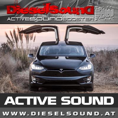 ActiveSoundBooster für TESLA Model S inkl. Einbau & App-Control