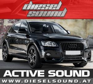 ACTIVE SOUND Audi Q5 (8R) TDI/TFSI