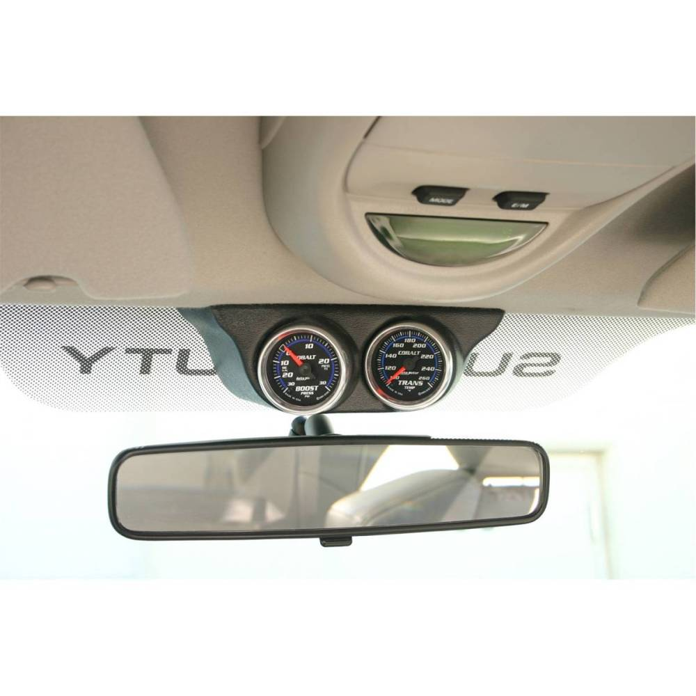 medium resolution of autometer autometer gauge mount overhead console dual 2 1 16in