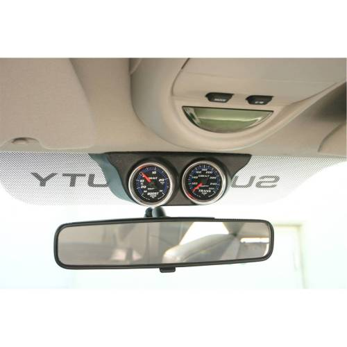small resolution of autometer autometer gauge mount overhead console dual 2 1 16in