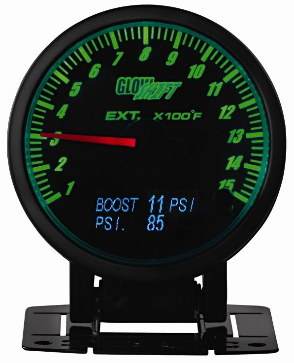 glowshift oil pressure gauge wiring diagram porsche cayenne headlight is it time to change your view dt roundup gauges diesel tech magazine