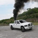 Smoke N The Drag Strip Rollin Coal In The Smokey Mountains Diesel Tech Magazine