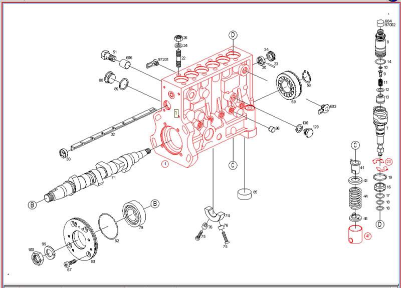 dodge truck parts diagram nissan sentra alternator wiring p pump diesel resource forums