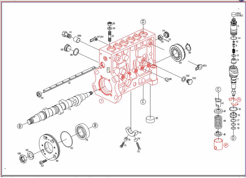 2004 dodge 2 7 engine diagram xlr mono jack wiring p7100 parts list - diesel truck resource forums