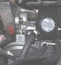 removing power steering pump and vacuum pump 89 installed jpg [ 1024 x 768 Pixel ]