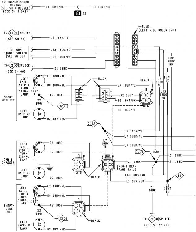 Dodge Ram 3500 Tail Light Diagram. Dodge. Wiring Diagram