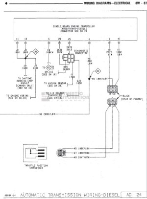 FSM Wiring Diagram Needed 1990 W250  Dodge Diesel  Diesel Truck Resource Forums