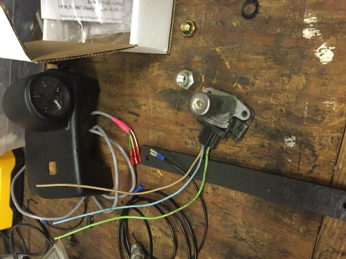small resolution of wiring floor mounted high beam switch for o d dodge sel