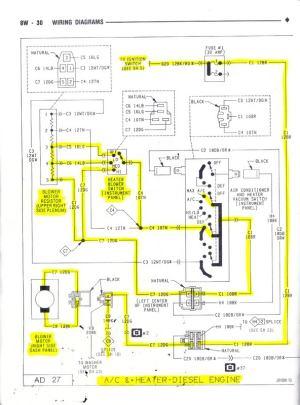 Where is the blower motor relay?  Dodge Diesel  Diesel