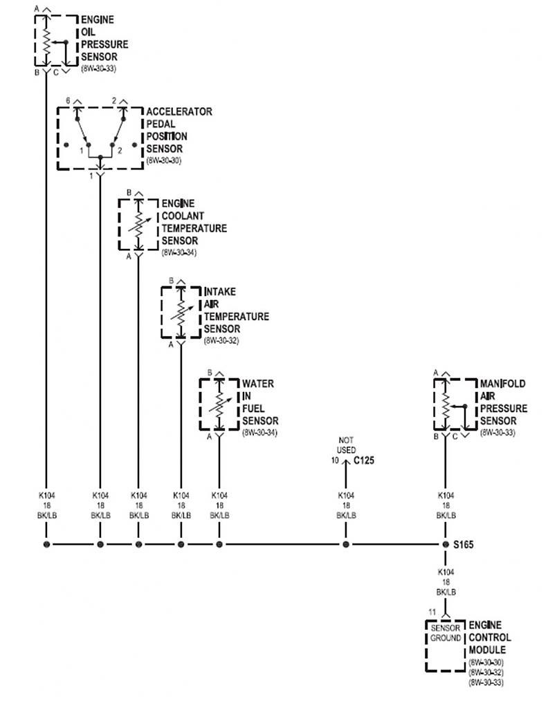 hight resolution of  2001 nostart when hot will start with temp sender unpluged wirediagram4 jpg