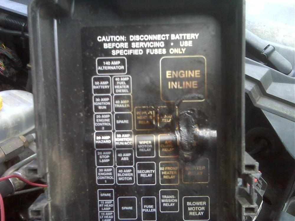 medium resolution of dodge 3500 fuse box