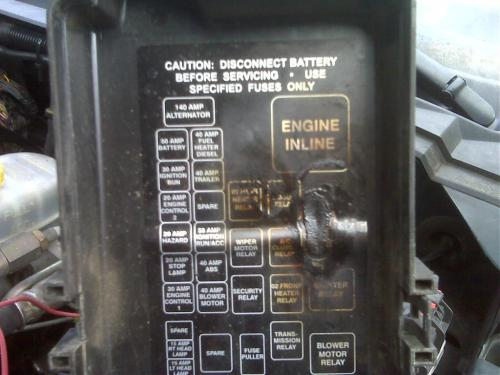 small resolution of dodge 3500 fuse box