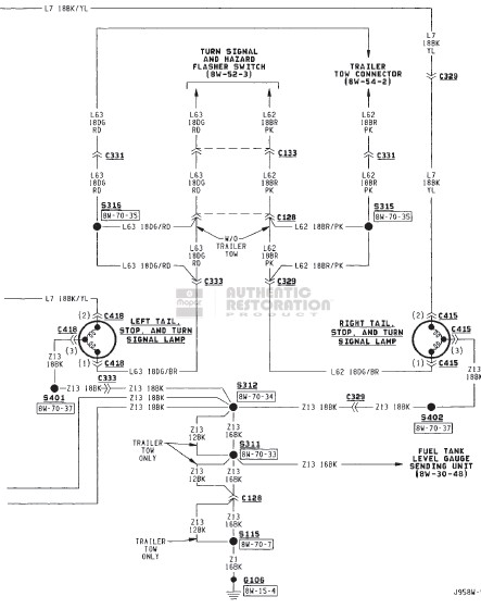 wiring diagram for 1999 dodge ram 2500 3 way switch guitar 2003 tail light color great help diesel truck resource forums rh dieseltruckresource com 2002