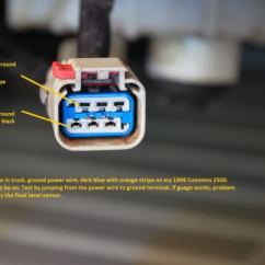 Wiring Diagram For 2007 Dodge Ram 2500 Printable Blank Family Tree Testing Fuel Guage, Sending Unit? - Diesel Truck Resource Forums