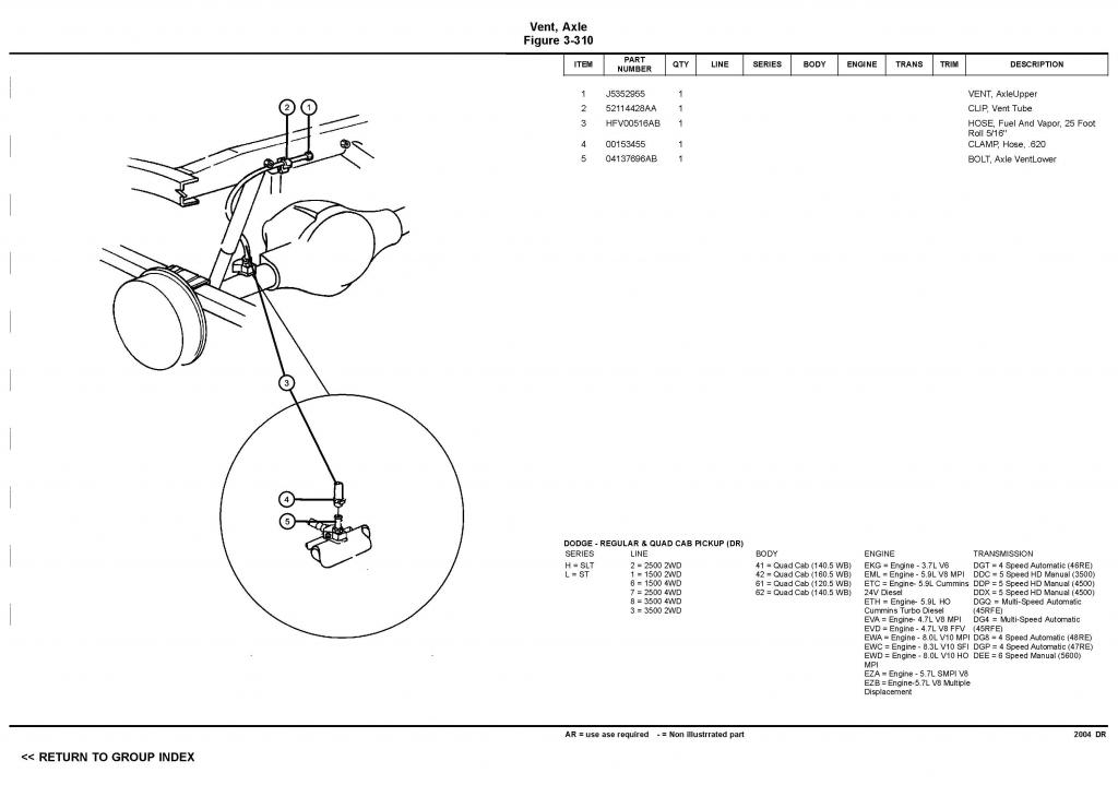 Dodge Ram 2500 Rear Axle Diagram, Dodge, Get Free Image