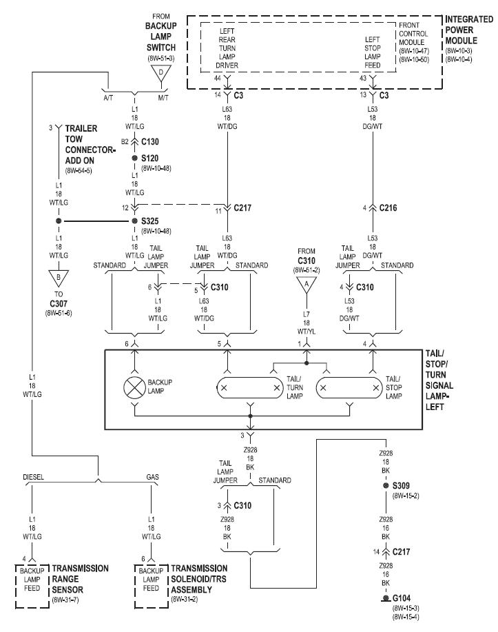 95 dodge ram 1500 wiring diagram mercury outboard parts rear 99 great installation of tail light data today rh del258 bestattungen eschershausen de stereo 2500 radio