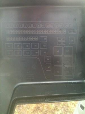 Need fuse box cover diagram for 03 diesel  Dodge Diesel