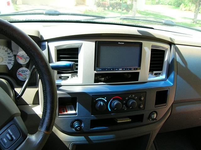 Nav Install And Weedahoe Bezel Dodge Diesel Diesel