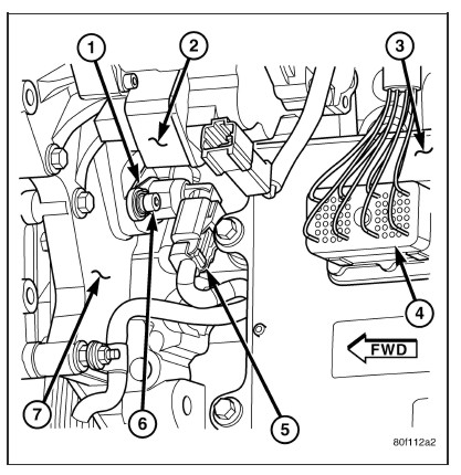 Diagram Of Crankshaft Position Sensor Nissan 350z, Diagram