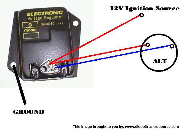 91 jeep cherokee alternator wiring diagram wan examples visio external voltage regulator? - dodge diesel truck resource forums