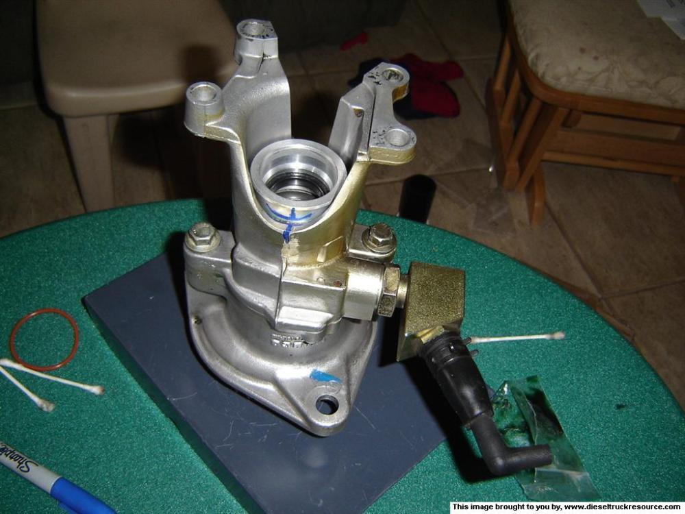medium resolution of vacuum pump leak fixed dodge diesel diesel truck resource forums