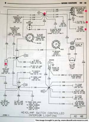 OEM Tach wiring diagram  Dodge Diesel  Diesel Truck Resource Forums