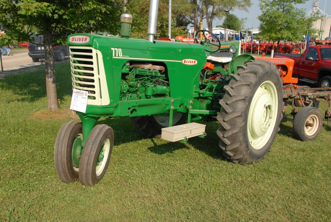 hight resolution of tractor talk 1958 oliver 770 the extra zero