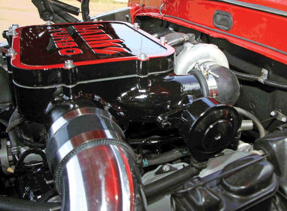 retro ford gasser goes diesel diesel