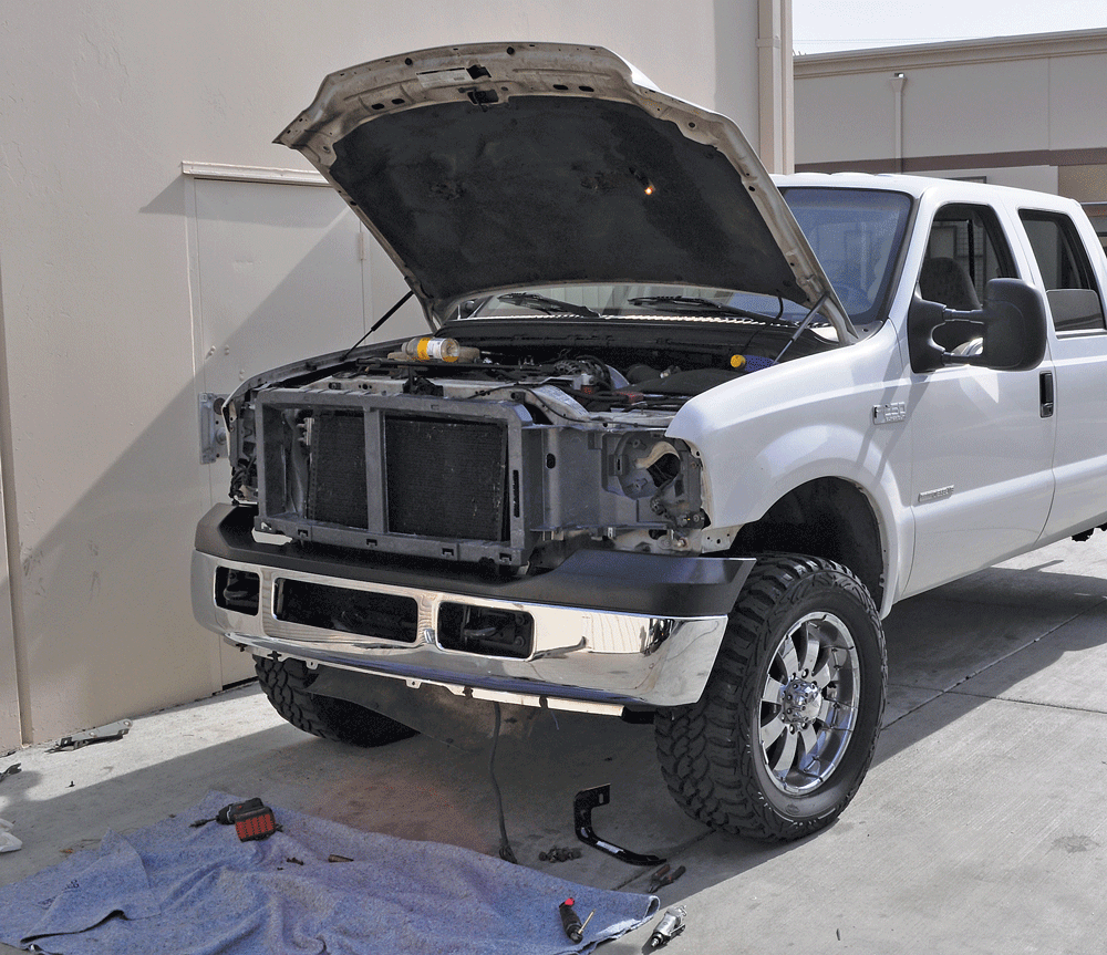 medium resolution of 14 all put together the new bumper was hung from the frame using the same mounting points as well as hardware the factory piece was secured with