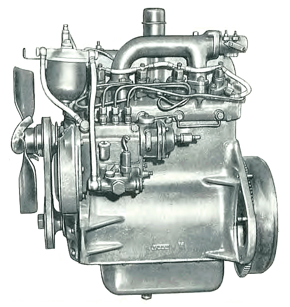 medium resolution of a larger bore db 154 was also used on larger tractors it had a robust five main block with wet sleeves