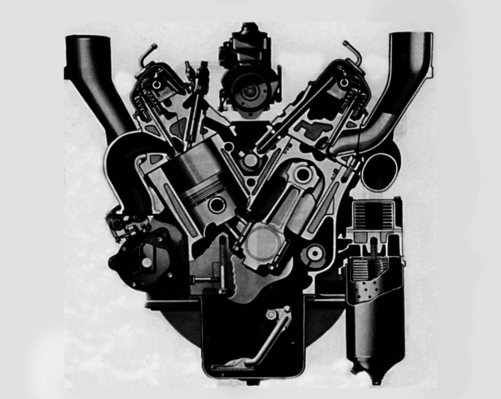 medium resolution of there isn t a whole lot to dislike here at least on paper fourbolt mains a chrome nickel alloy block and six bolts per cylinder to tie the head down