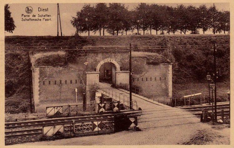 Schaffense Poort in 1926