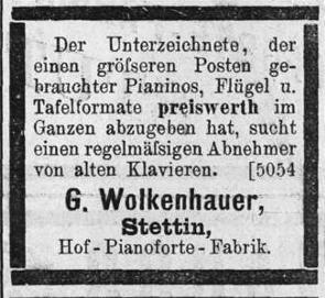 Wolkenhauer 1897