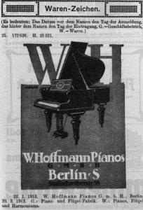 Hoffmann, W., Warenzeichen