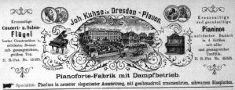 Kuhse, Anzeige 1891