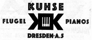 Kuhse Anzeige 1924