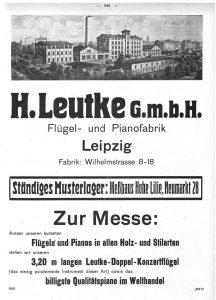 Leutke 1921Messe