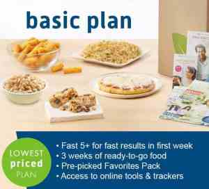 Nutrisystem Success Pick Basic or Select Plans