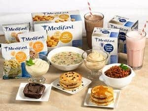 Medifast Gluten Free 4 Week Diet Food Delivery Plan