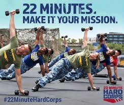 22 Minute Boot Camp Workout