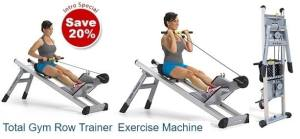 Total Gym Row Trainer   New Total Gym Rowing Fitness Machine
